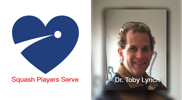 Squash Players Serve - Dr. Toby Lynch