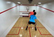 Mini Squash in action