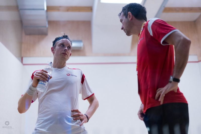 Campion (right) in talks with former World No.1 James Willstrop