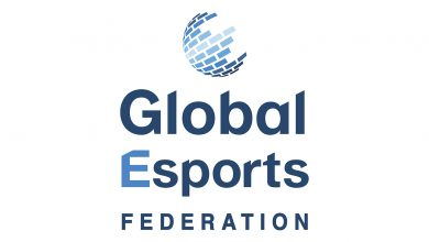 The Global Esports Federation logo