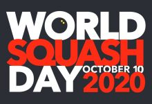 The 2020 World Squash Day Logo