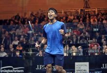 Nafiizwan Adnan celebrates during the J.P. Morgan Tournament of Champions