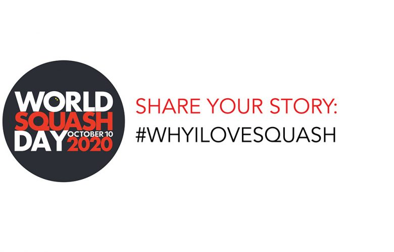 World Squash Day has launched its #WHYILOVESQUASH social media campaign