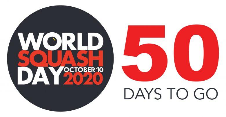 50 Days to Go Until World Squash Day