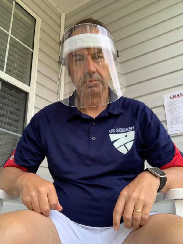 Richard Millman, one of the owners of i-Mask