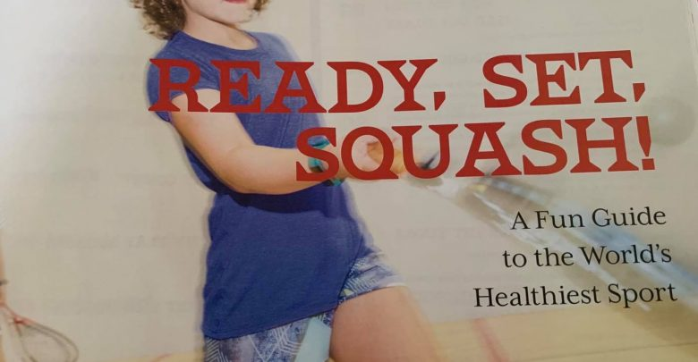 The front cover of Ready, Set, Squash!