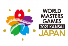 The 2021 Kansai World Masters Games logo