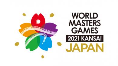 The 2021 Kansai World Masters Games logo