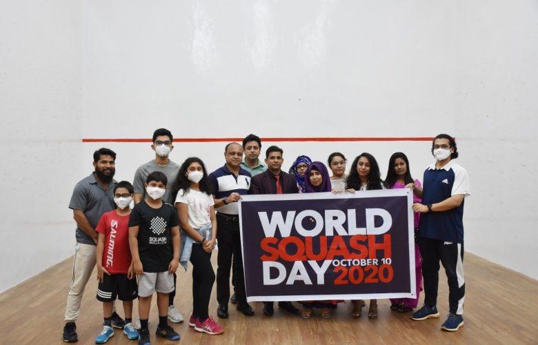World Squash Day celebrated in Bangladesh