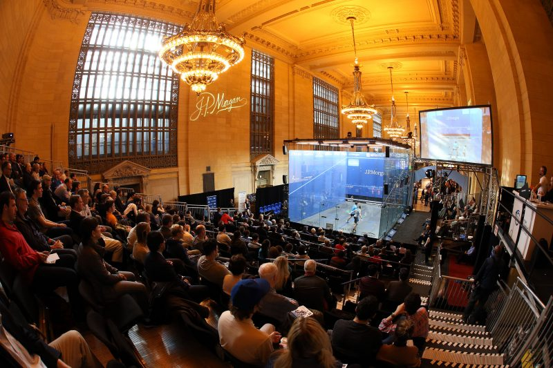 New York's famous Grand Central Terminal hosts the Tournament of Champions