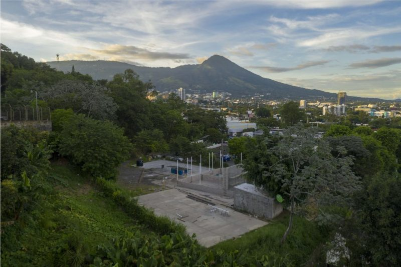 Construction Begins on the outdoor complex in El Salvador