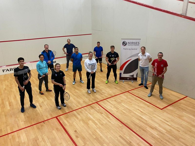 The WSF Level 2 Coaching Course taking place in Larvik, Norway