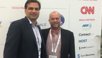 Pablo Serna, WSF Secretary General & Vice-President and Francisco Paradisi, FPS President