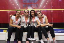 2018 WSF Women's World Team Squash Championship winners Egypt