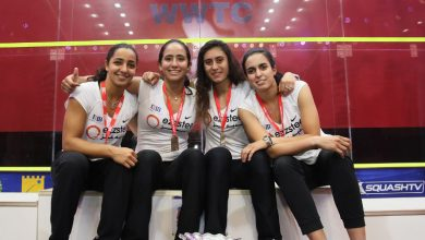 2018 WSF Women's World Team Squash Championship winners Egypt