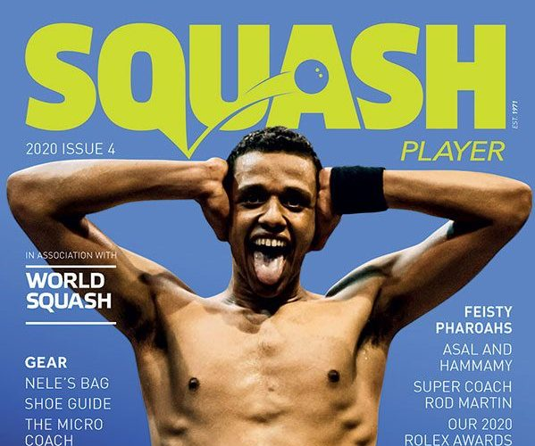 The Squash Player Issue 4 Cover Features Mostafa Asal
