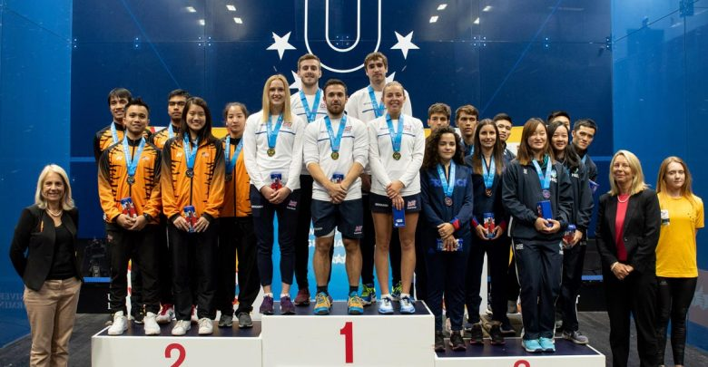 Great Britain won the most recent World University Championship Squash