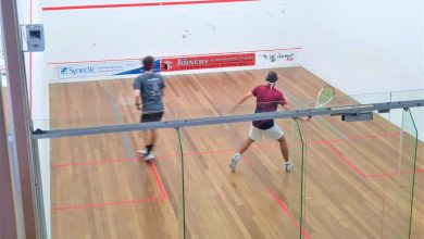 The Australian Junior Open in progress (credit: Jay Kross)