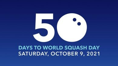 We are 50 days away from World Squash Day