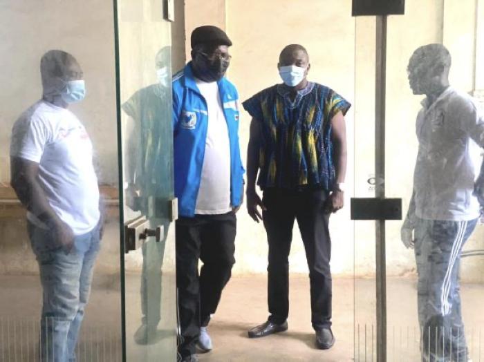 Ghana Squash impresses SFA President Lucky Mlilo